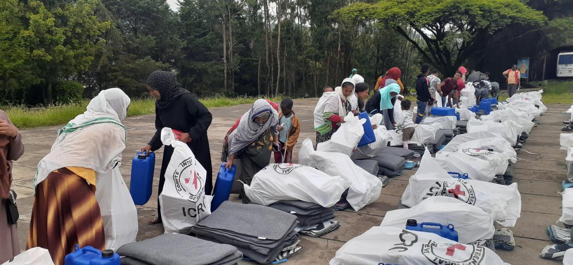 Relatório de operações sobre a Etiópia: mudanças na linha de frente no Norte levam mais pessoas a fugir de casa