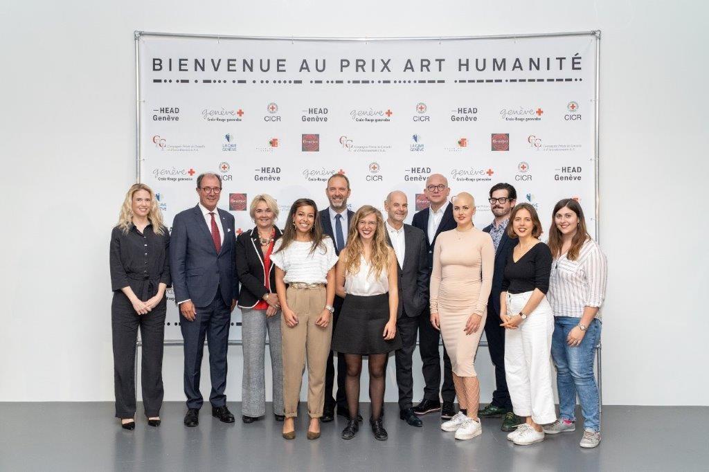 Finalistes Prix Art Humanité 2019 / ICRC et Croix Rouge genevoise