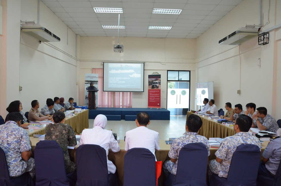 Malaysia: Military lawyers delve deeper into law of armed conflict at sea