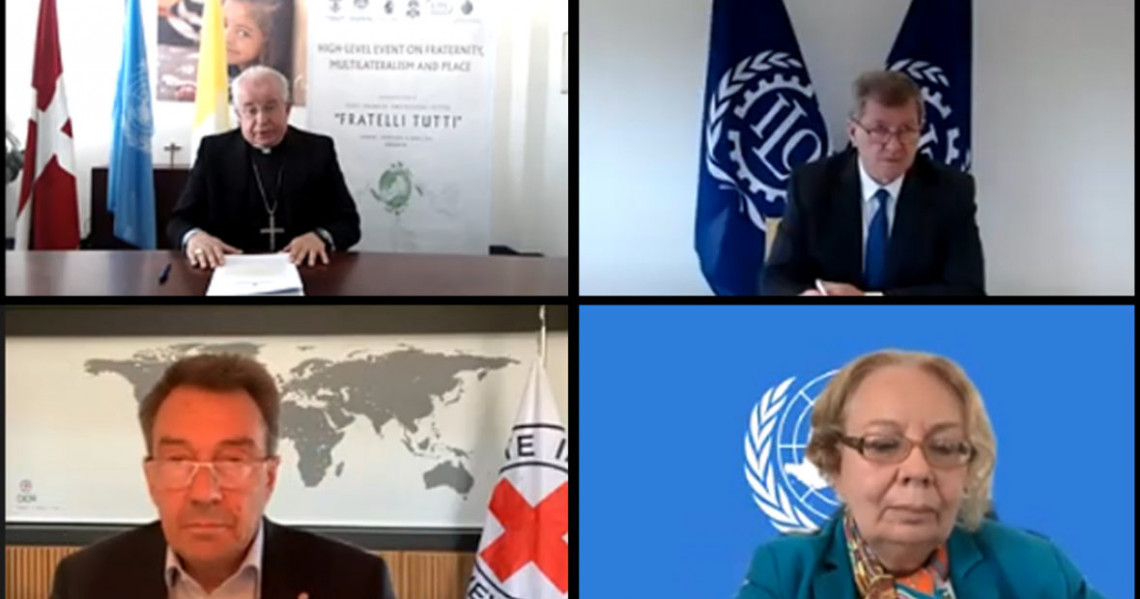 """Fratelli Tutti: Holy See Event on """"Fraternity, Multilateralism and Peace"""""""