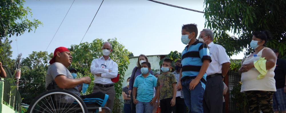El vicepresidente del CICR, Gilles Carbonnier, visita El Salvador y Honduras para abordar consecuencias de la violencia