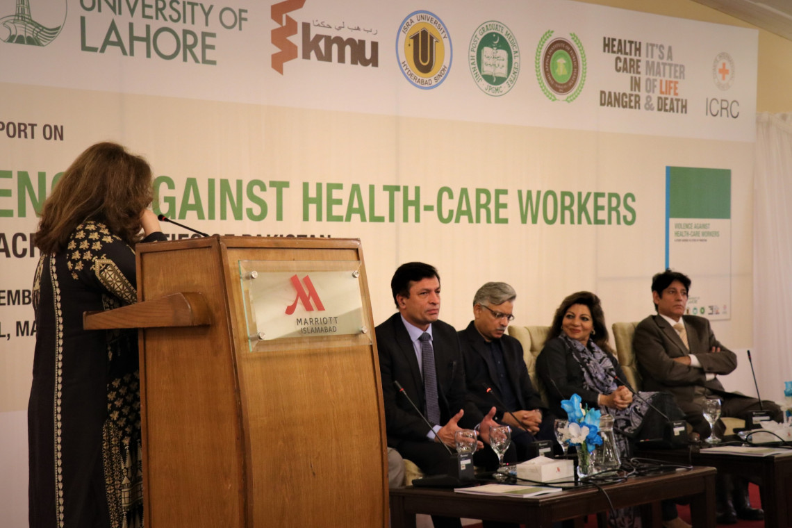 ICRC study: Over 41% health workers experienced violence in last 2 months