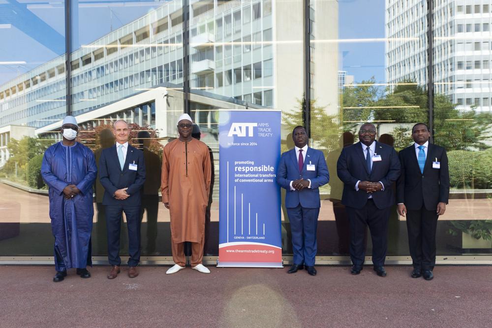 Открытая сессия Седьмой конференции государств-участников Договора о торговле оружием.