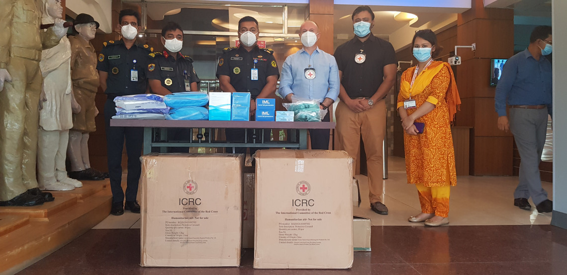 COVID-19 Prison support in Bangladesh