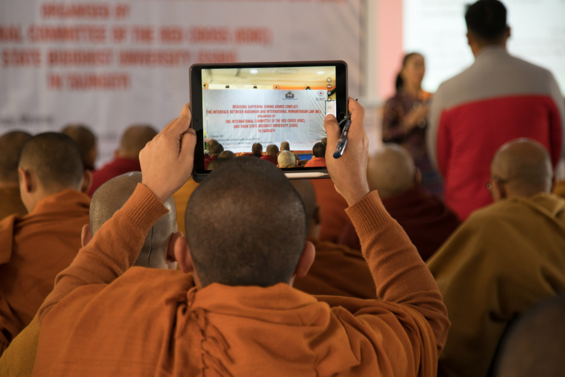 ICRC Buddhist circles engagement in Myanmar