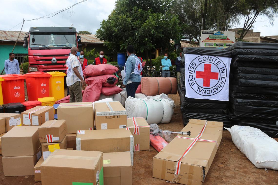 埃塞俄比亚:红十字国际委员会向11家拘留场所捐赠医疗和非医疗用品