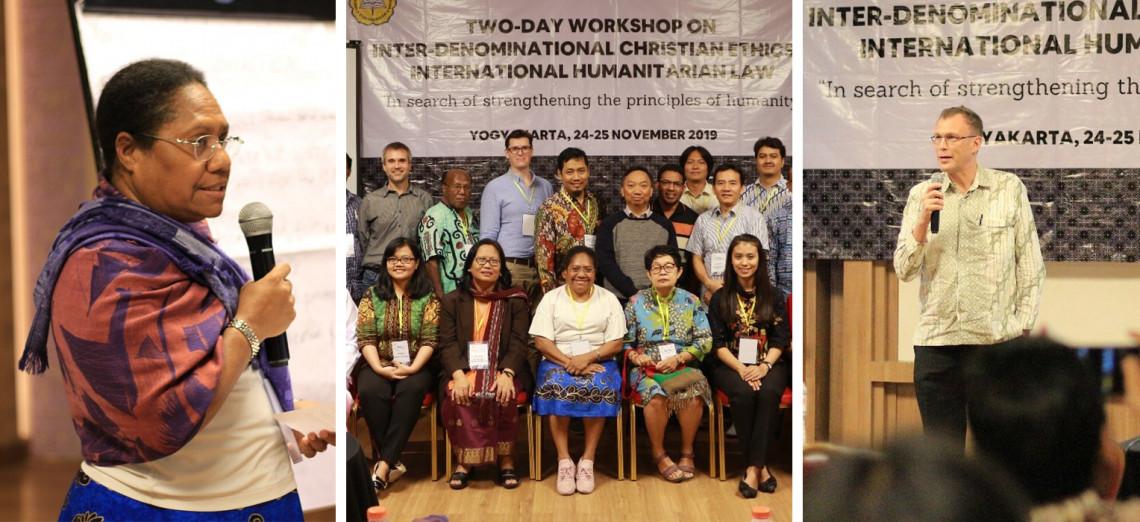 Indonesia: Inter-denominational Christian ethics and IHL workshop with Sanata Dharma University