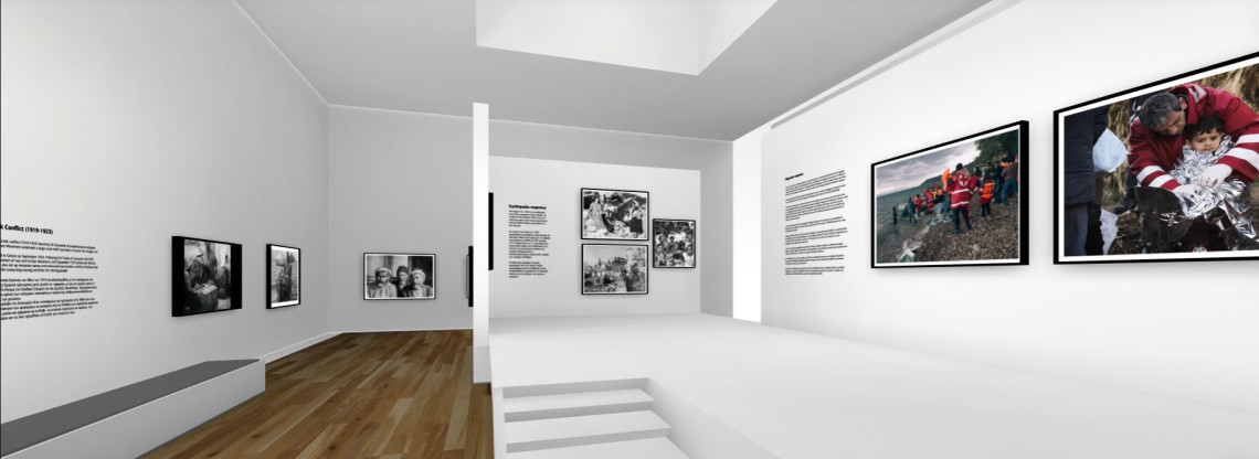 ICRC showcases virtual exhibition history of Red Cross Red Crescent in Greece