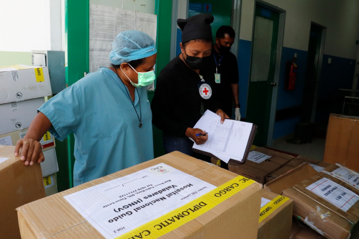 COVID-19 response in Timor-Leste: ICRC supports CVTL and HNGV hospital in Dili