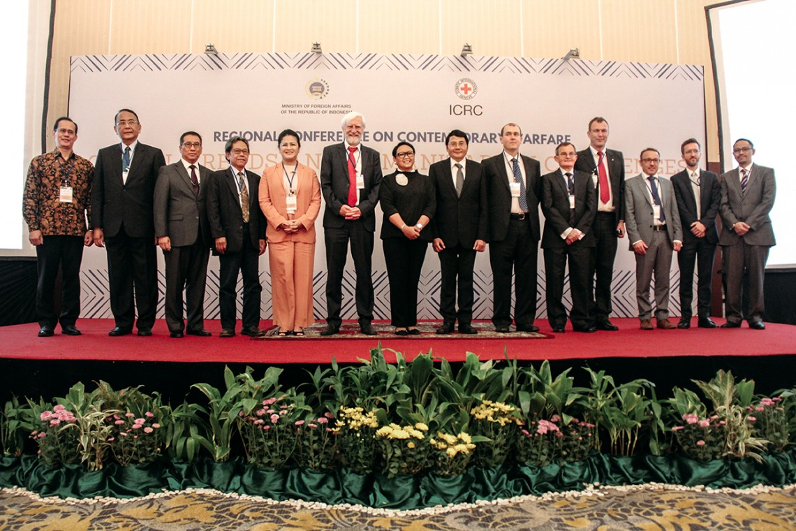 ASEAN diplomats discuss global trends, humanitarian challenges in contemporary warfare