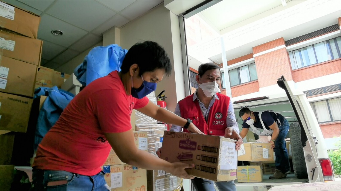 With the onset of the COVID-19 crisis in the Philippines, here's how the ICRC adjusted its ongoing programming and launched new initiatives to assist national authorities, the health care system and detention facilities.