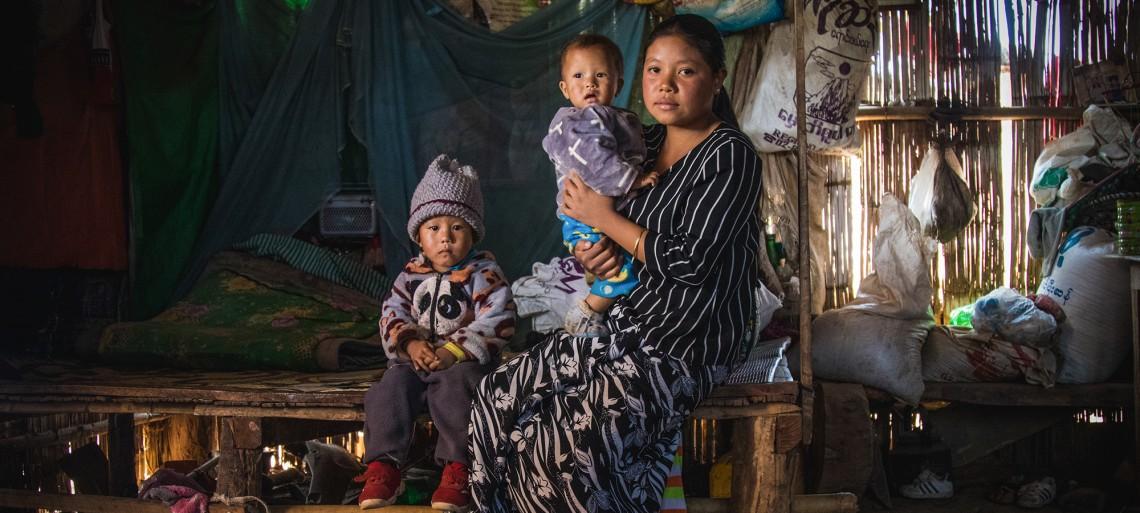 缅甸:为使他人不像自己一样痛失亲人 玛苏兰大力提高民众对地雷的认识