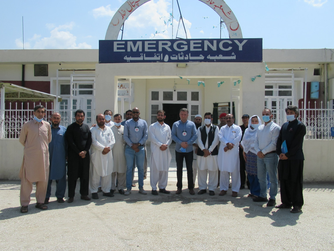 Pakistan: Upgraded emergency ward to offer quality health care in Bajaur