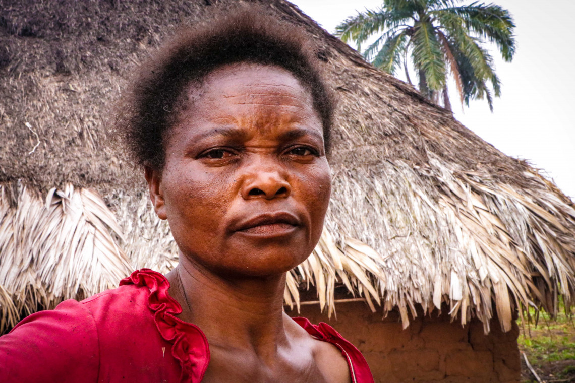During the violence, Marie sought refuge in the bush more than 30 kilometres away, only to return in 2018 and find that her house and her belongings had been ransacked.