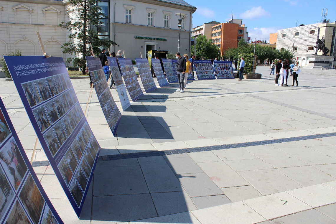 An exhibition organized by the Coordination Council of Family Associations on the occasion of the International Day of the Disappeared