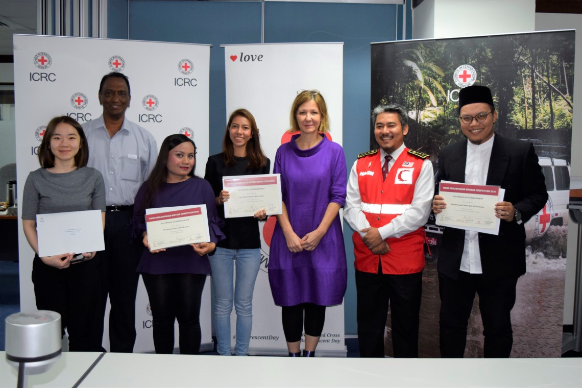 Winners of young humanitarian writers competition 2019 announced