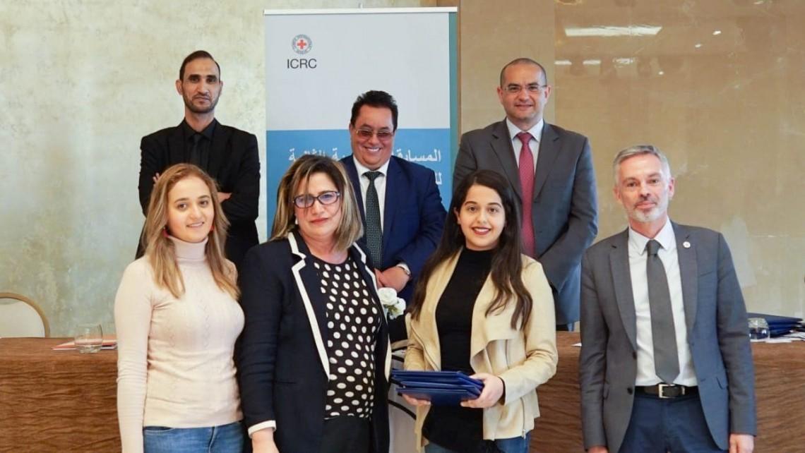 Des étudiantes de la faculté des sciences juridiques de Aïn Chock de Casablanca participent à un concours régional de plaidoirie