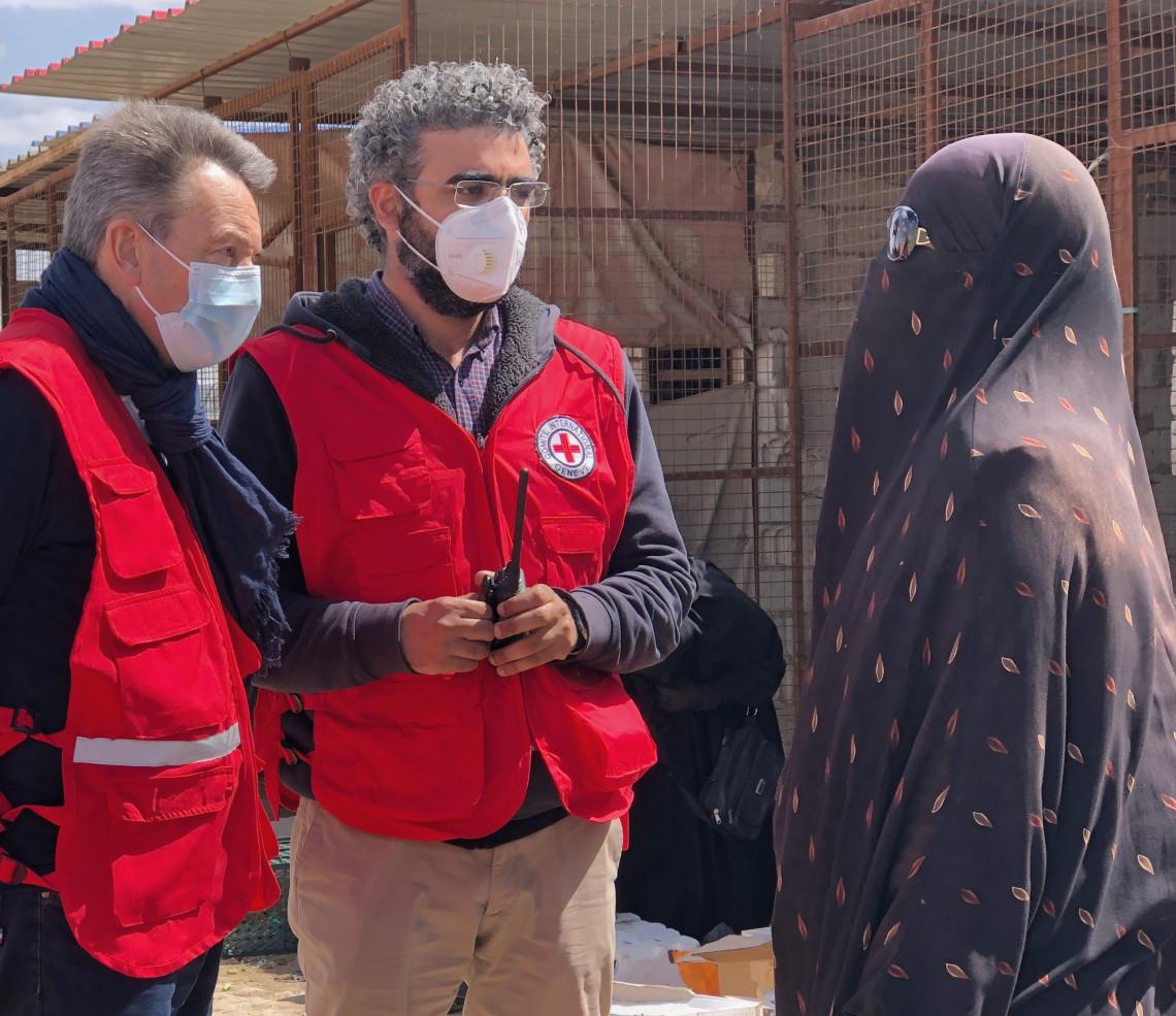 سورية: رئيس اللجنة الدولية يحث المجتمع الدولي على اتباع