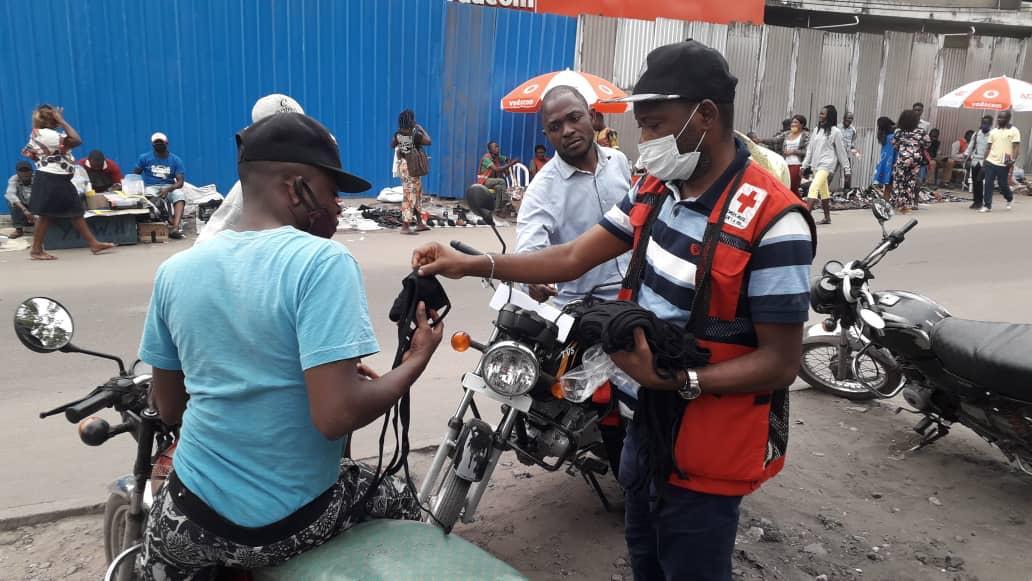 La riposte du CICR à la Covid-19 en République démocratique du Congo