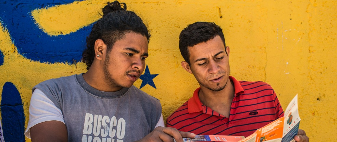 Self-care messages that the ICRC shares with migrants in Mexico and Central America