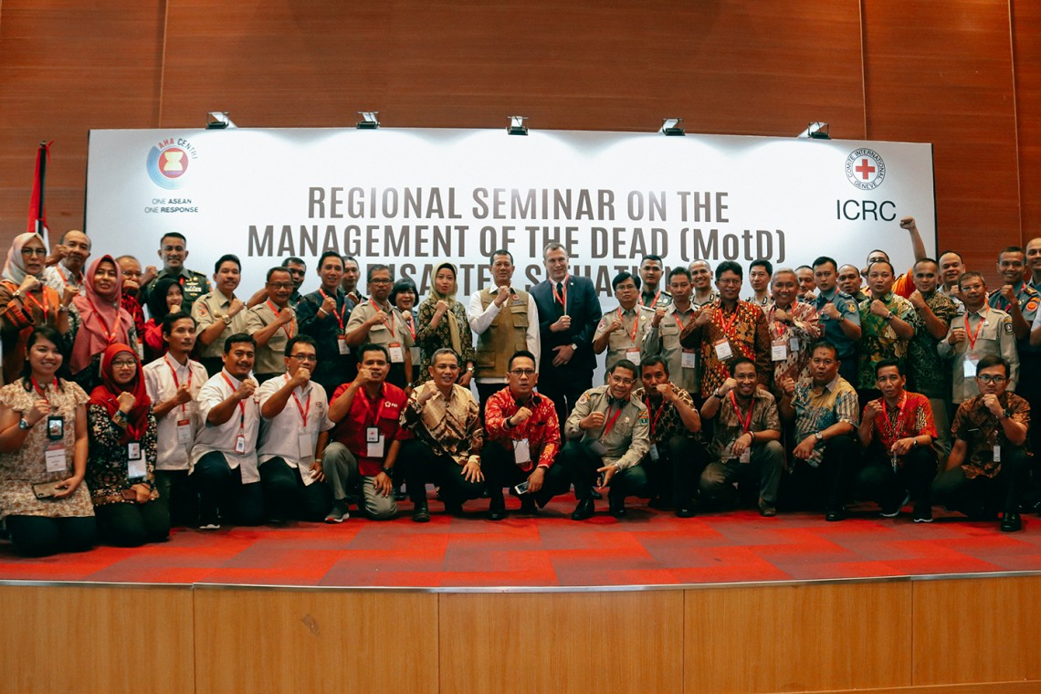 Dignified management of the dead: ASEAN Member States lay importance on first responders' role