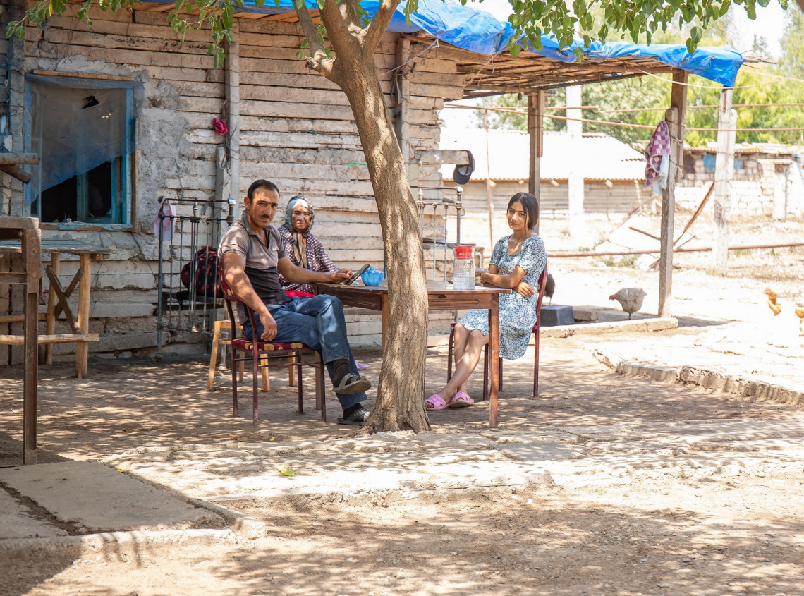 Nagorno-Karabakh Conflict: 28 years of being displaced from home. Aida Aliyeva/ICRC