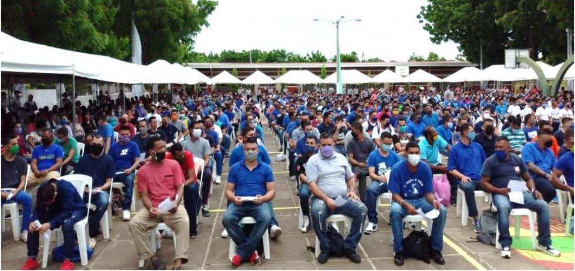 Liberación en Nicaragua