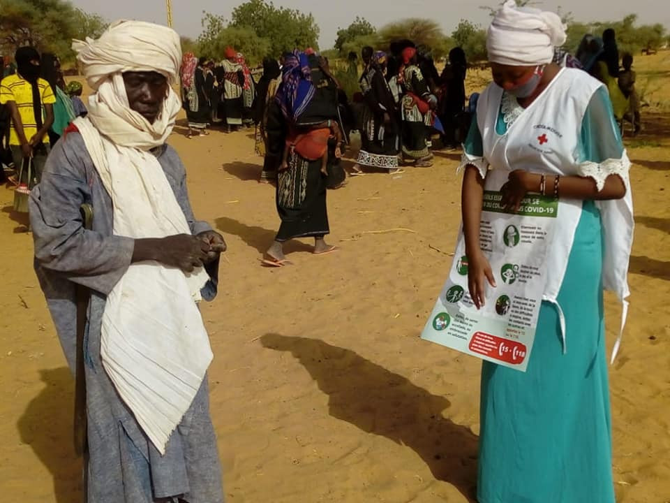 COVID-19: The Red Cross Society of Niger and the ICRC