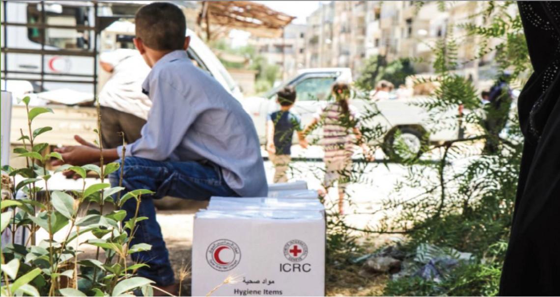 استجابة اللجنة الدولية للصليب الأحمر للتصدي لكوفيد-19 في منطقة الشرق الأدنى و الأسط