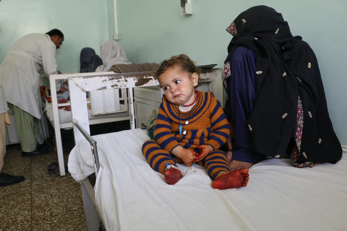 ICRC Afghanistan: Inside Kandahar's busiest medical facility, and the positive impact entrenched by ICRC