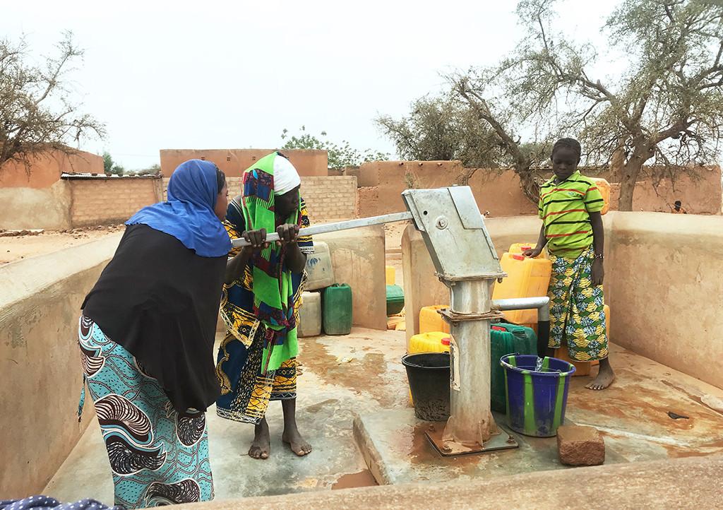 Forage réhabilité au secteur 3 de Djibo. Crédit Photo : Hamidou Ouedraogo / CICR