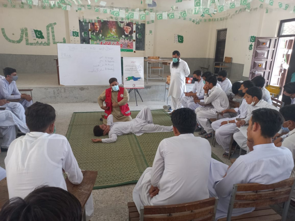 World First Aid Day: Pakistan first-aider says no one too young to save a life