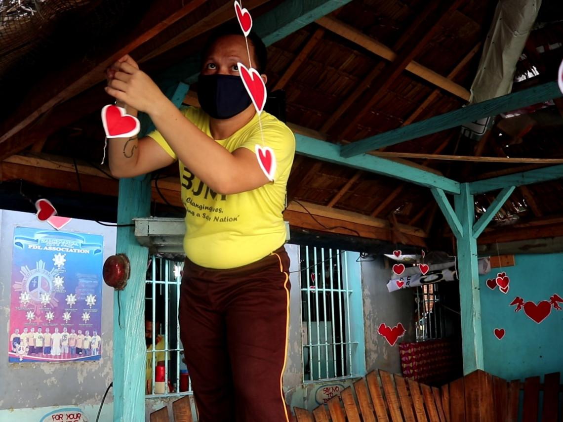 COVID-19: Lockdown love and longing for family in Zamboanga jail