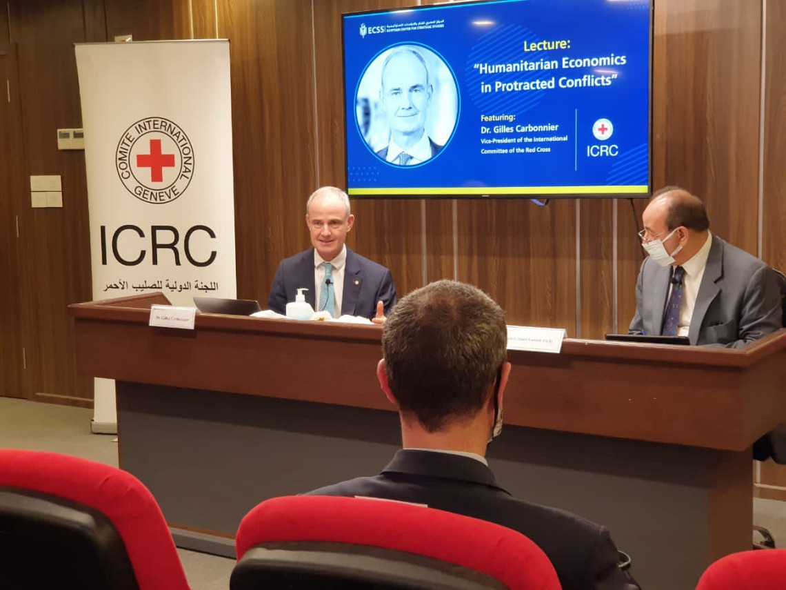 Humanitarian Economics: ICRC Vice President on how it can better address protracted conflicts