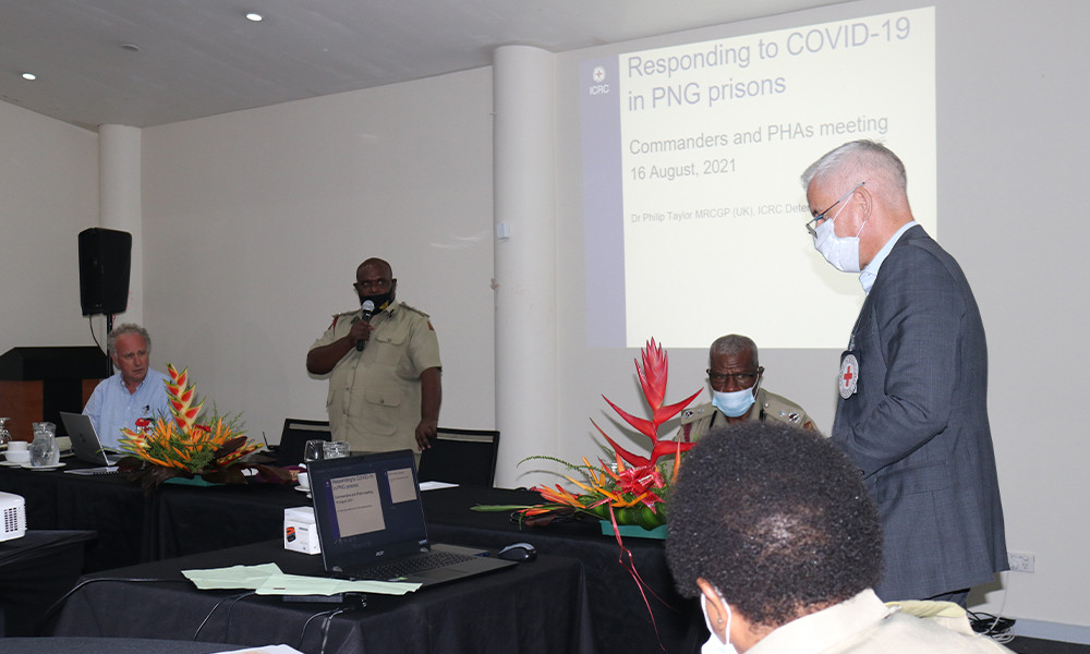 The ICRC detention team participated in a conference organised by PNG Correctional Services | ICRC