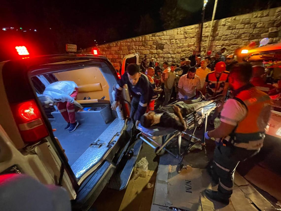 Palestinain Red Crescent Response - Credit: Atta Jaber