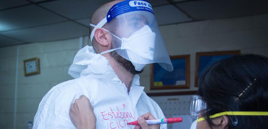 El Salvador: actividades realizadas en respuesta a la pandemia COVID-19