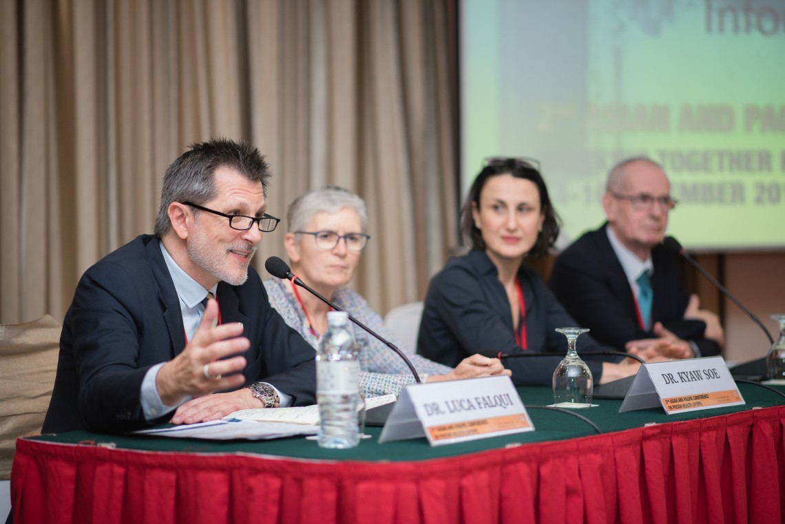 Asia and the Pacific: Conference highlights working together for better prison health
