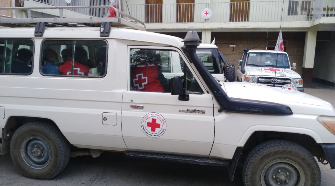Foto: Cruz Vermelha Etíope