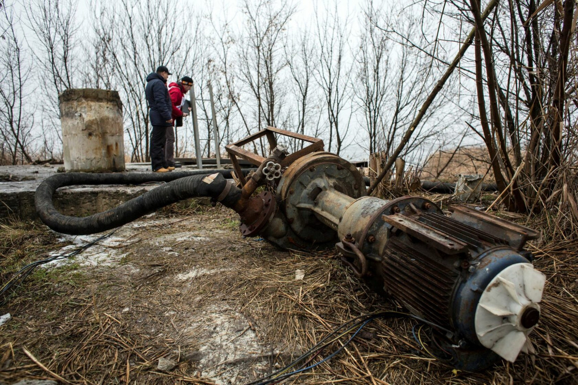 Securing water access in Donbas, Ukraine