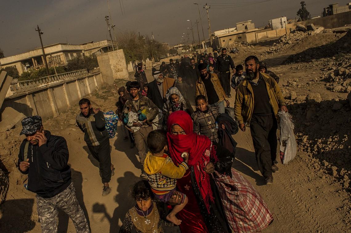 استجابة اللجنة الدولية لاحتياجات المهاجرين المستضعفين