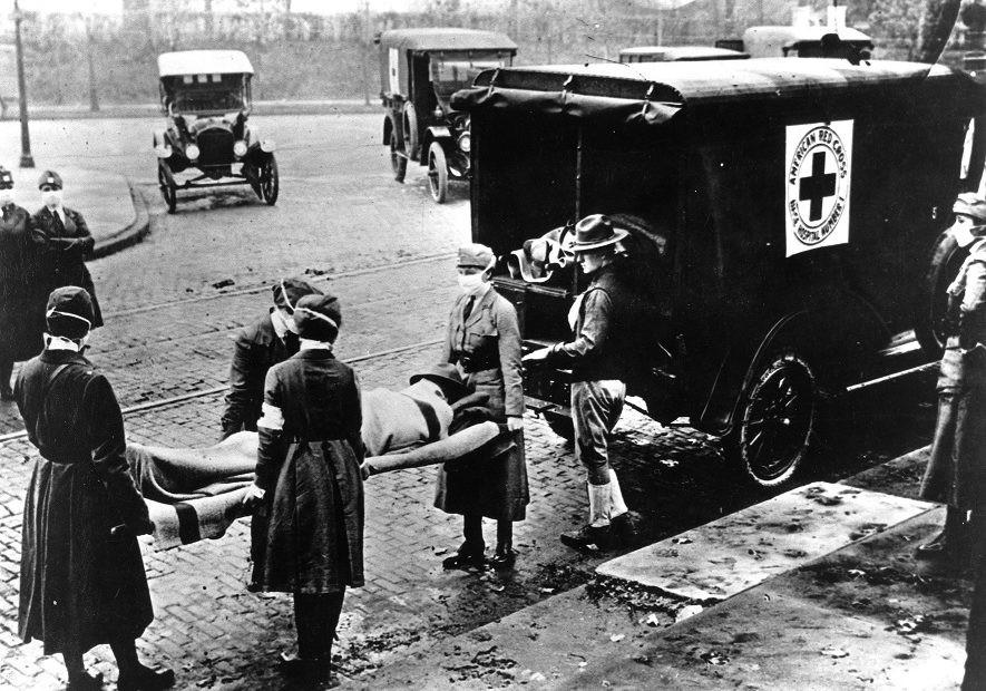 """从""""西班牙流感""""到新冠肺炎疫情:1918年流感大流行与第一次世界大战的经验教训"""