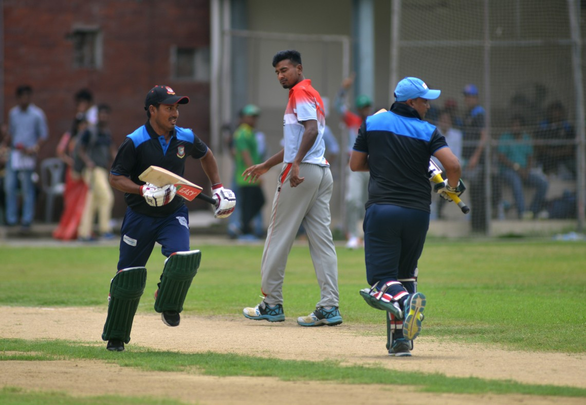 Bangladesh: Playing cricket with the stars and defeating physical challenges