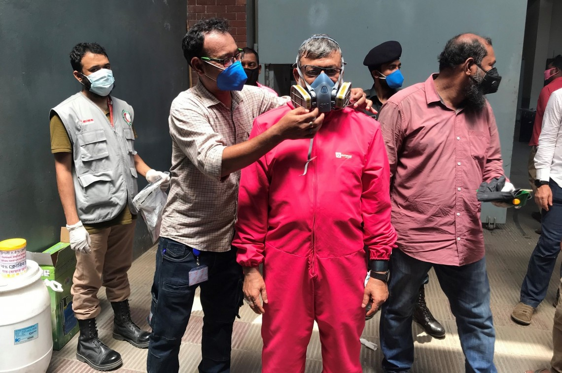 Bangladesh: Protecting detainees from COVID-19