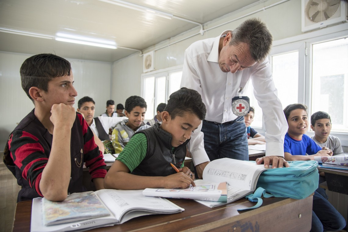 Q&A: ICRC and access to education
