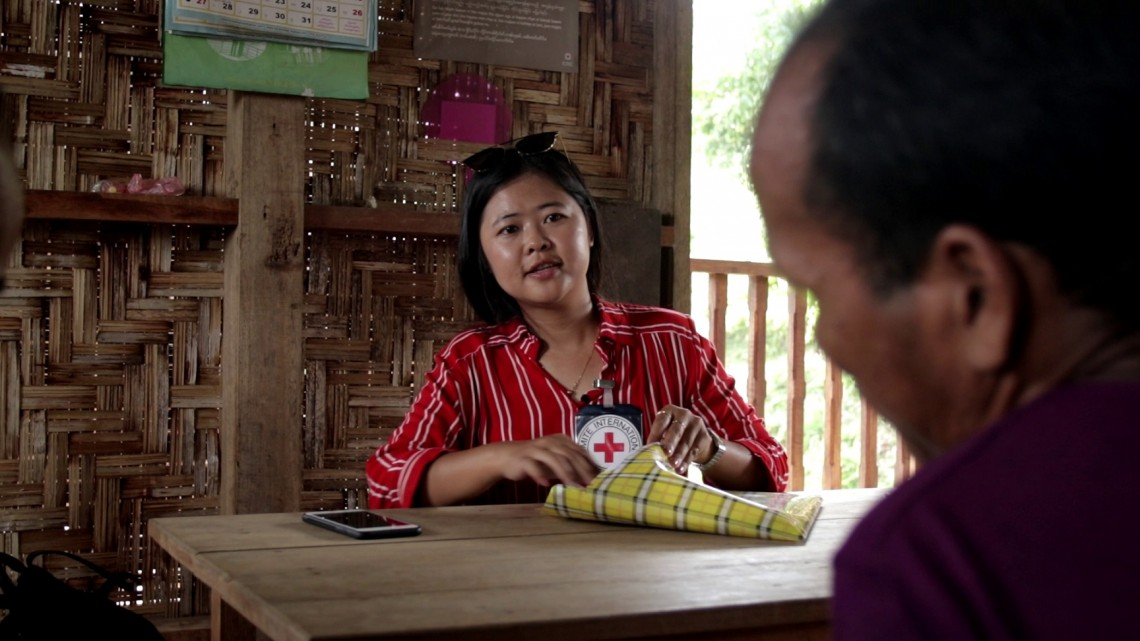 ICRC Myanmar woman engineer breaking gender stereotype