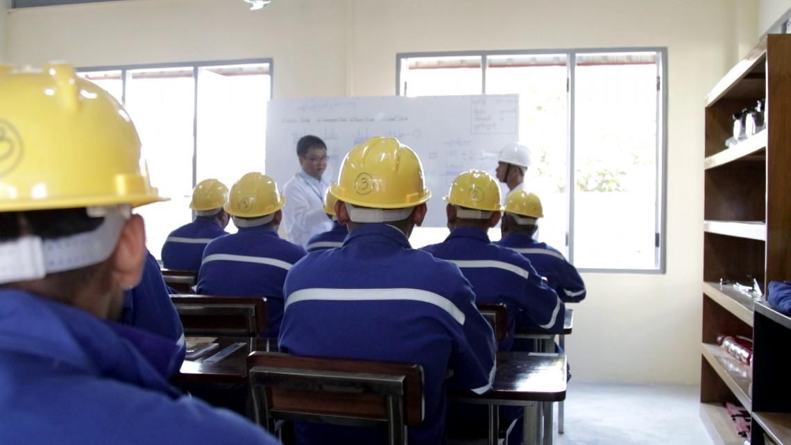 Myanmar: New skills training centre for detainees