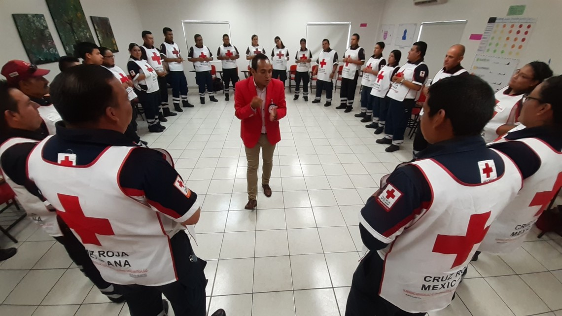 Mexico: working with the Mexican Red Cross