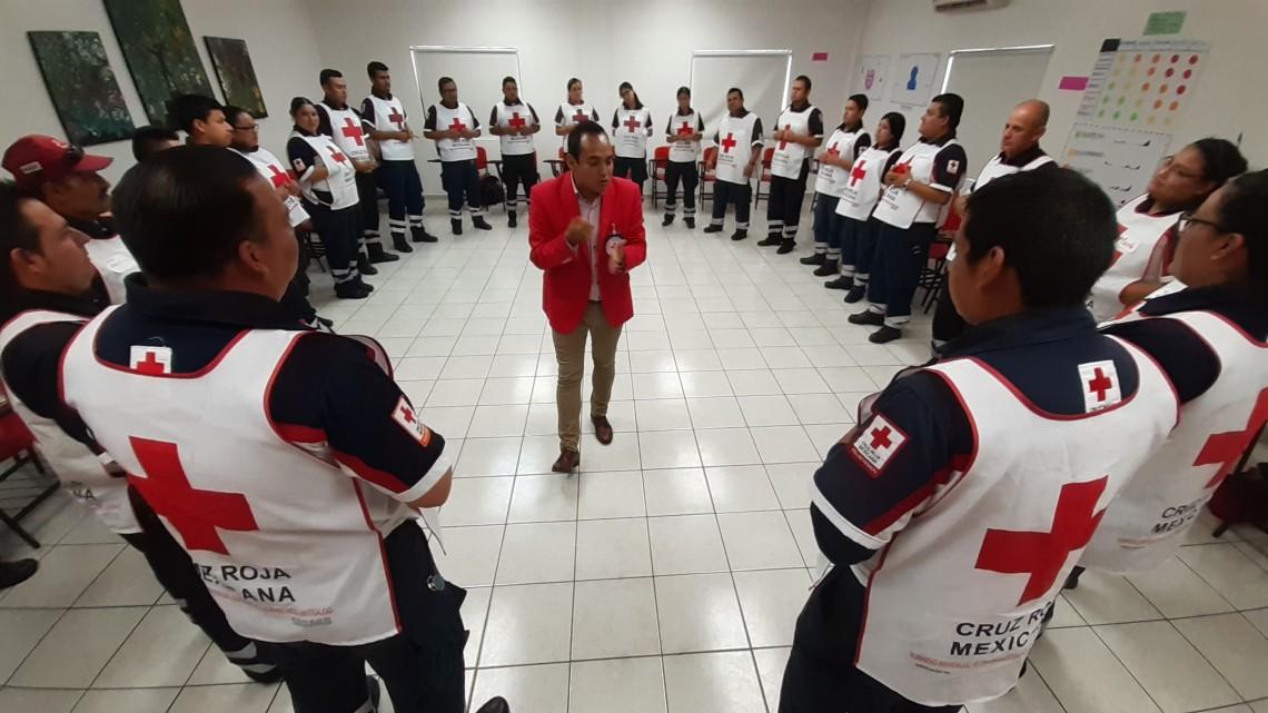 México: acciones en colaboración con la Cruz Roja Mexicana