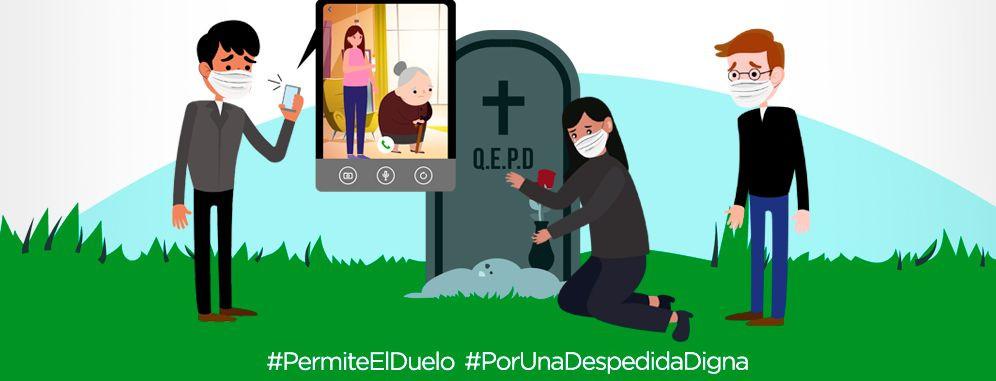 """Honduras: """"Todos tenemos derecho a decir adiós"""", campaña por una despedida digna de personas fallecidas por COVID-19 durante la pandemia"""